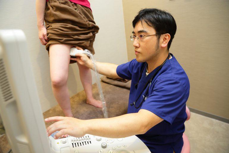 下肢静脈瘤の検査について